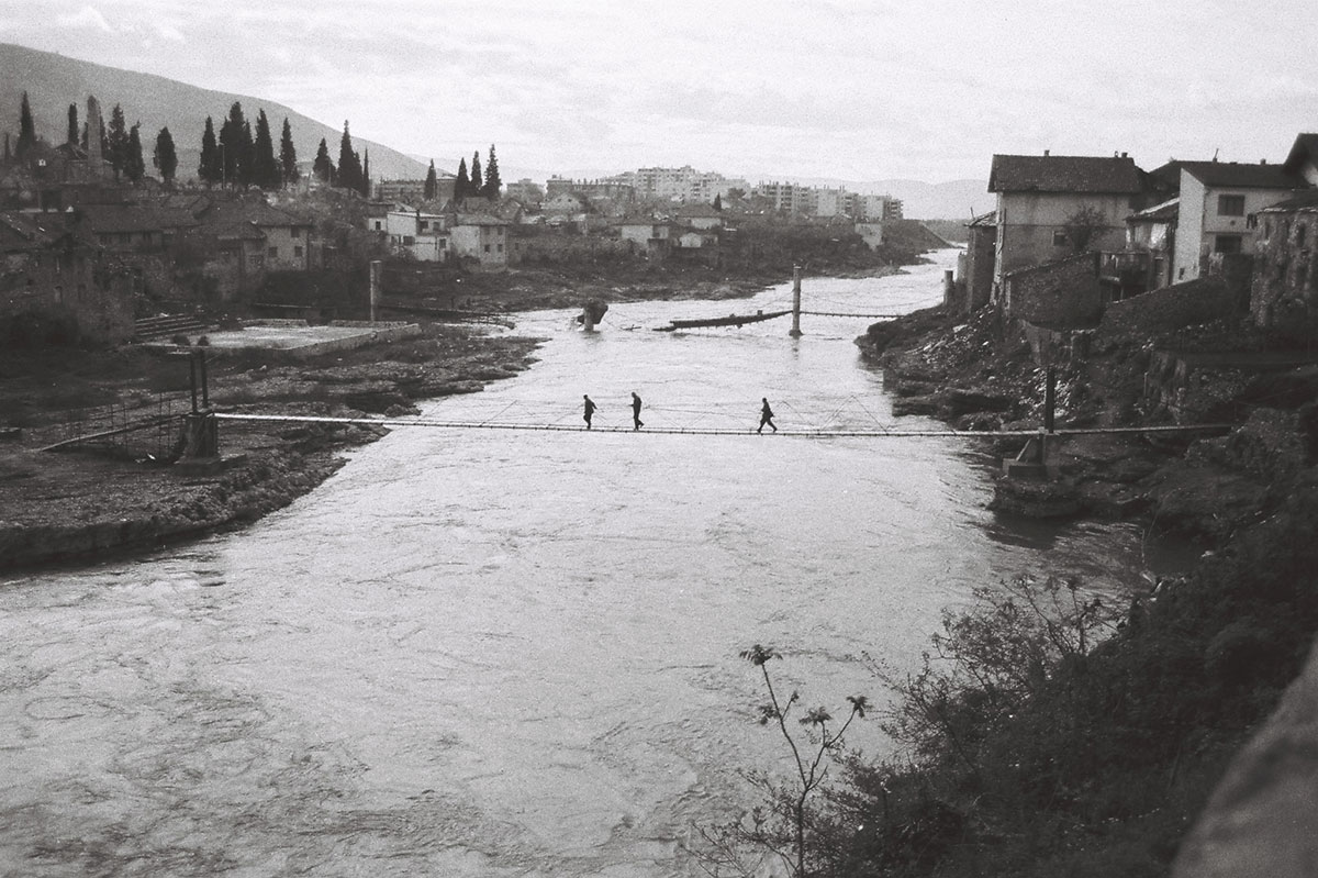 Drowned in the Neretva River